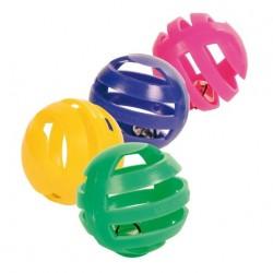 "Игрушка ""TRIXIE"" цветные трещащие шарики (4 шт)"