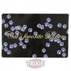 """Коврик """"TRIXIE"""" под миску для еды """"Cats favorite Diner"""", 44x28см"""