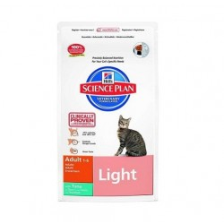 Hills Science Plan Feline Adult Light  (Тунец)