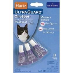 Капли противопаразитарные Ultra Guard Cat 3 в 1