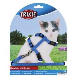 """Набор 1 """"Trixie"""" (шлея+поводок) для котят"""