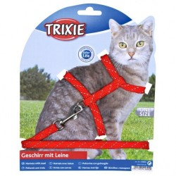 """Набор 2 """"Trixie"""" (шлея + поводок) для кошек"""