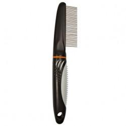 """Расческа """"TRIXIE"""" для распутывания шерсти, с вращающими зубьями, 22см"""