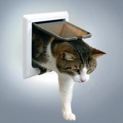 """Откидная дверца для кошки """"TRIXIE"""" с тоннелем"""