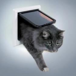 """Откидная дверца для кошки """"TRIXIE"""" с тоннелем (ХL)"""