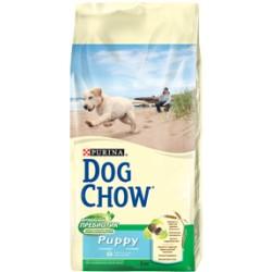 Dog Chow корм для щенков (Курица), 14 кг