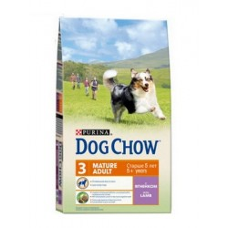 DOG CHOW Mature с ягненком, 14 кг