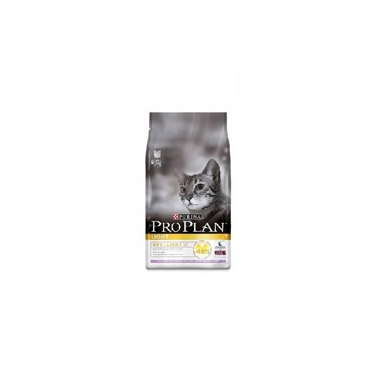 Purina Pro Plan Light для кошек (индейка, рис)