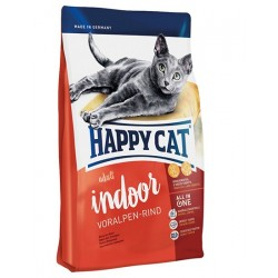 Сухой корм Happy Cat Supreme Indoor (Альпийская говядина)