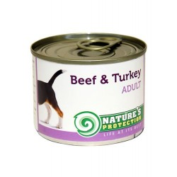 Nature′s Protection Dog Adult Beef & Turkey (Говядина, индейка)