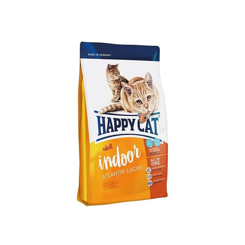 Сухой корм Happy Cat Indoor (Атлантический лосось)