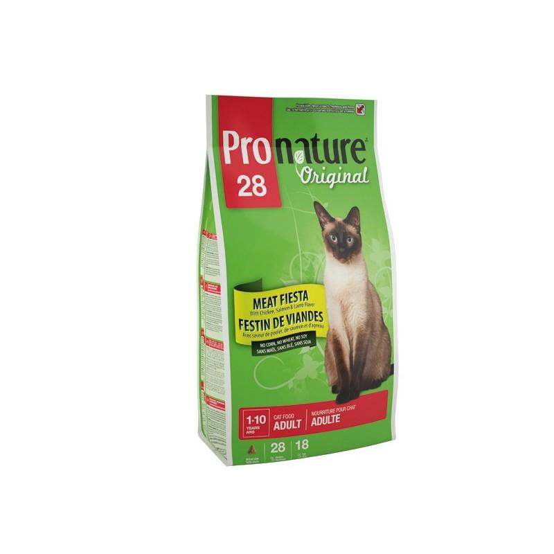 Pronature Original 28 Adult Meat Fiesta