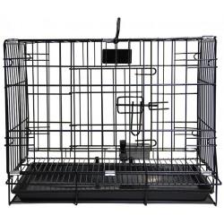 PetsLife Клетка черного цвета
