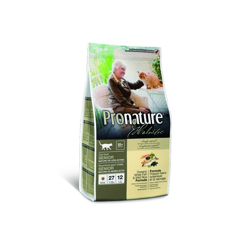 Pronature Holistic Senior or Less Active Ocean Fish & Wild Rice