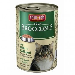 Консервы Brocconis Cat (Дичь, птица), 400 гр
