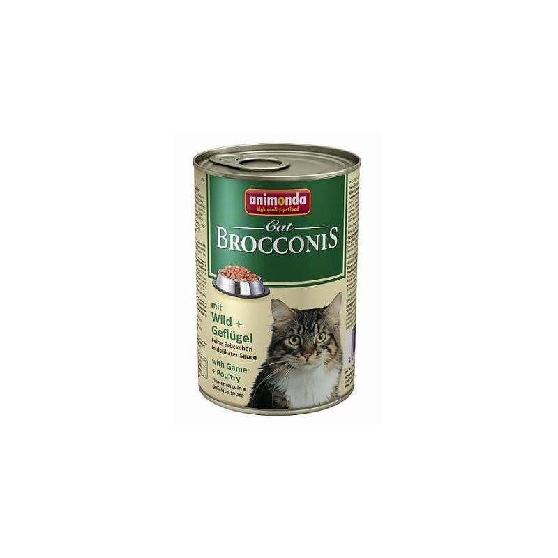 Консервы Brocconis Cat (Дичь, птица), 400 гр