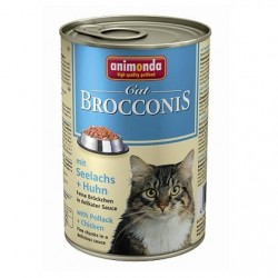 Консервы Brocconis Cat (Сайда, курица), 400 гр