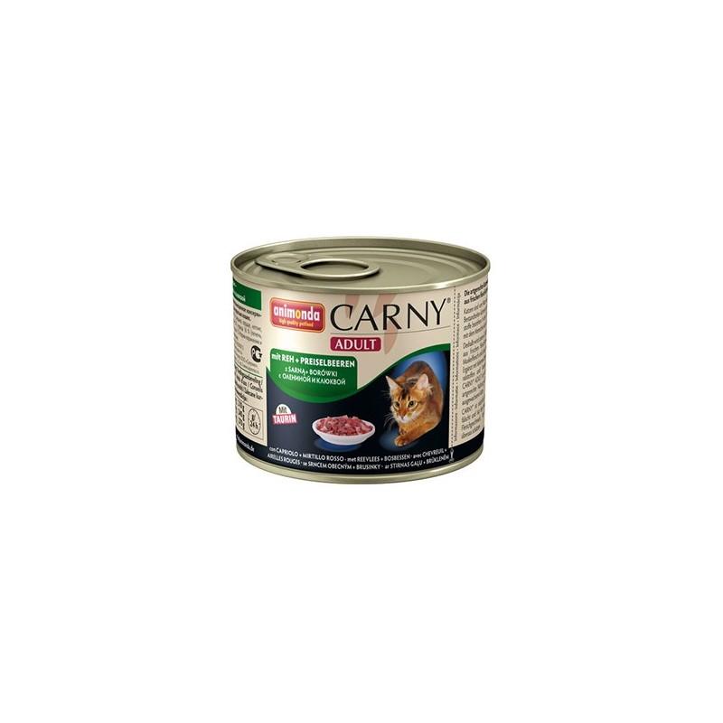 Консервы Carny Adult (Оленина, клюква), 200 гр
