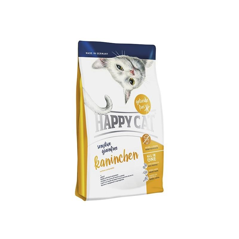 Сухой корм Happy Cat Sensitive (Кролик)