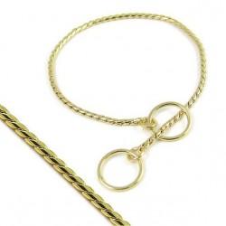 Onega цепочка-кобра выставочная 5 мм., золото