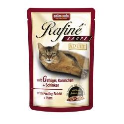 Rafine Soupe Adult (Птица, кролик, ветчина), 100 гр