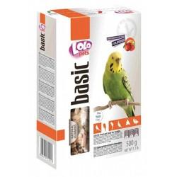 Lolo Pets Basic Корм для волнистых попугаев (Фруктовый)