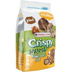 Корм Crispy Muesli Hamsters & Co