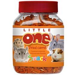 "Little One лакомство ""Сушеная морковь в баночке"", 200 гр"