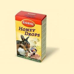 Sanal для грызунов медовые дропсы, 45 грамм