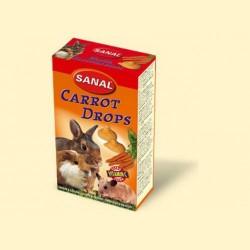 Sanal для грызунов морковные дропсы, 45 грамм