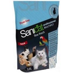 Sanicat Professional Multipet Fine Fresh, 3.8 л