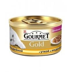 Gourmet Gold (кусочки с уткой и индейкой)