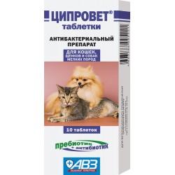 Агроветзащита Ципровет для кошек