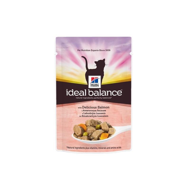 Hill′s Ideal Balance Feline Adult Salmon&Vg