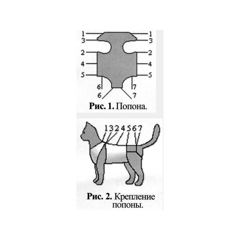 Как сделать бандаж для кошки после стерилизации
