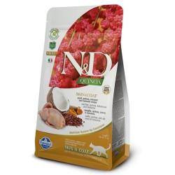 Farmina N&D Cat Quinoa Skin&Coat (Перепел, кокос)
