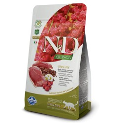 Farmina N&D Cat Quinoa Urinary (Утка, клюква)