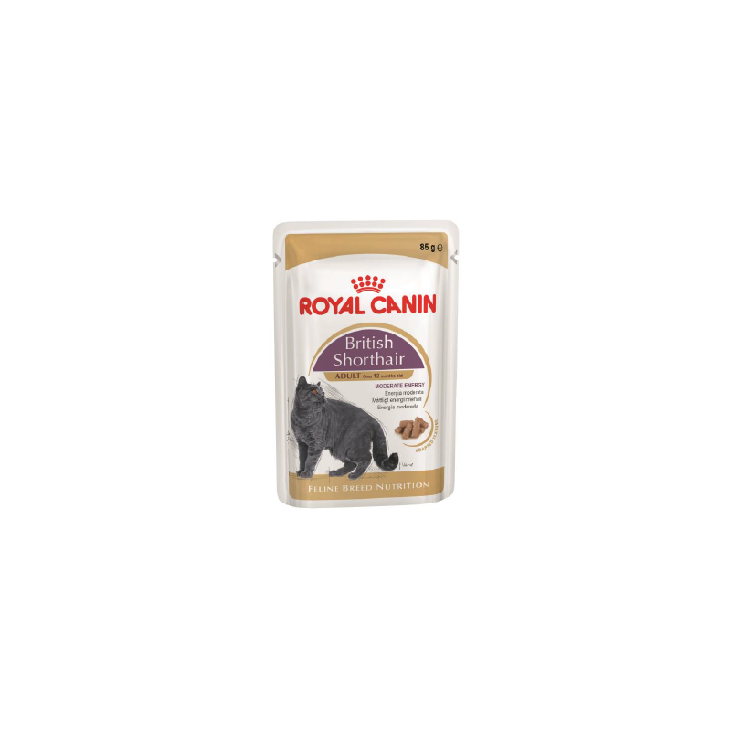 Royal Canin British Shorthair (в соусе), 85 гр