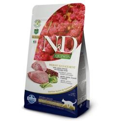Farmina N&D Cat Quinoa Weight Management (Ягненок, брокколи)