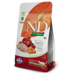 Farmina N&D Cat Pumpkin Neutered (Перепел, гранат)