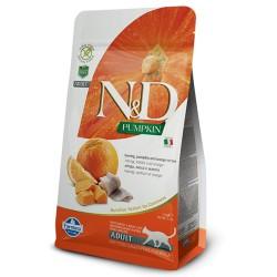 Farmina N&D Cat Pumpkin (Сельдь, апельсин)