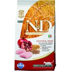Farmina N&D Cat Low Grain (Курица, гранат)