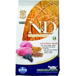Farmina N&D Cat Low Grain (Ягненок, черника)
