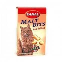 Sanal для кошек, подушечки для выгонки шерсти, 75 грамм