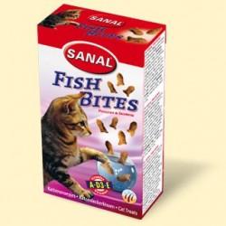 Sanal для кошек, подушечки рыбные, 75 грамм