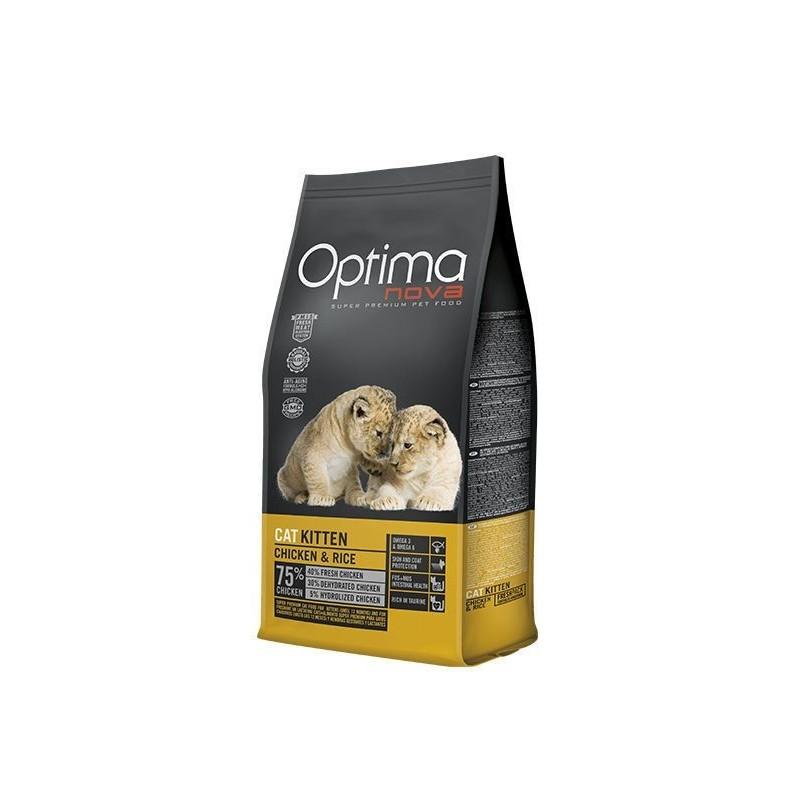 Optima Nova Kitten (Курица, рис)