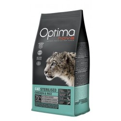 Optima Nova Cat Sterilised (Курица, рис)