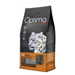 Optima Nova Cat Adult (Лосось, рис)