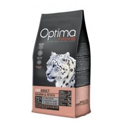Optima Nova Cat Adult (Лосось, картофель)