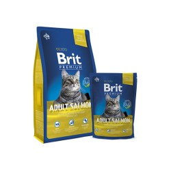Brit Premium Cat Adult (Лосось)
